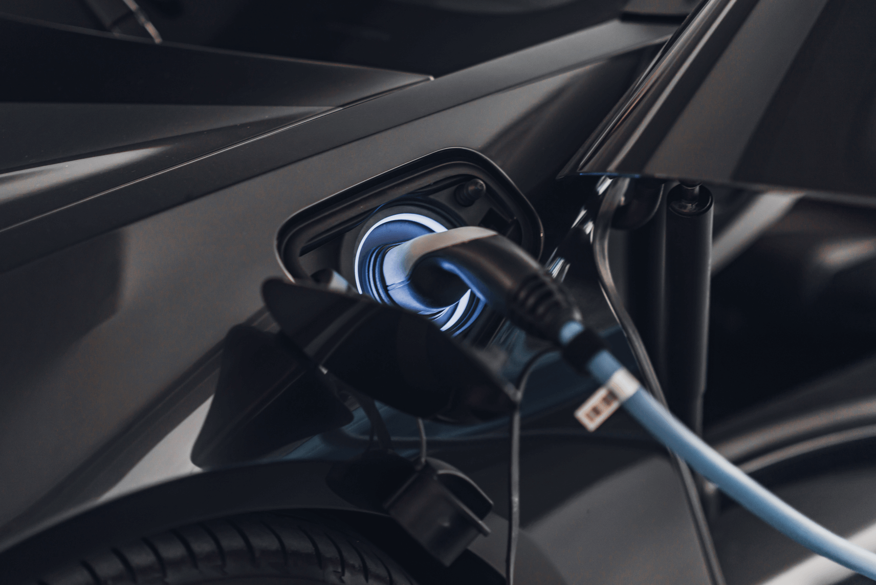 Plug-in Hybrid and a pure electric car